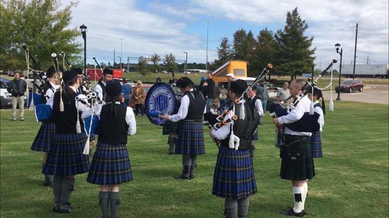 The Hub City Highlanders Bagpipe and Drum Corps